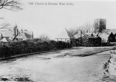 St Bridget's Church and School West Kirby